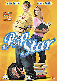 Pop Star Dvd Aaron Carter Brand New & Factory Sealed