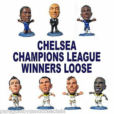 CHELSEA BLUE BASE MUNICH CHAMPIONS SOCCERSTARZ - Choice of 22 different loose