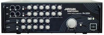 Jarguar Suhyoung Stereo Mixing Amplifier. Great Karaoke Mixer with 300W RMS Amp.