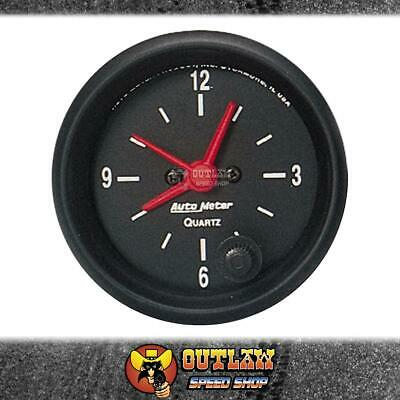 "Autometer Clock In Dash Quartz Movement 2.1/16"" - Au2632"