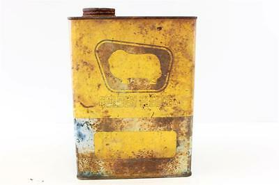 Golden Fleece vintage 1 imp gallon oil drum second hand