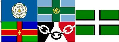 Flag Flags English counties Yorkshire 5x3 5ftx3ft 150cmx90cm wholesale bulk