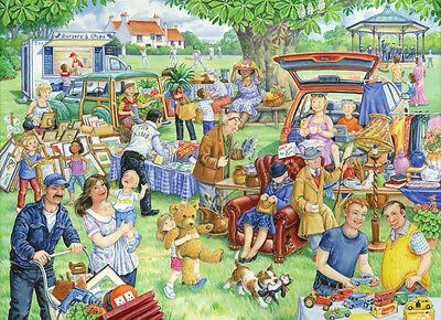 The House Of Puzzles - 1000 PIECE JIGSAW PUZZLE - Car Boot Sale