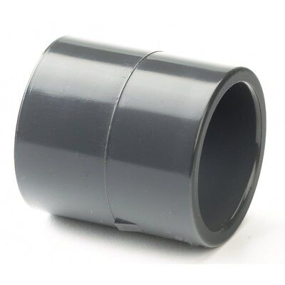 PVC /PVCu Pipe Fittings Solvent Cement Plain Socket Metric