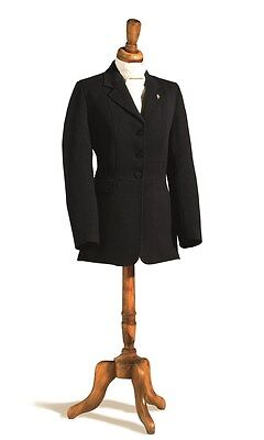 Caldene Wessex Mens Semi Hunt Coat 3 Button 100% Wool ALL SIZES