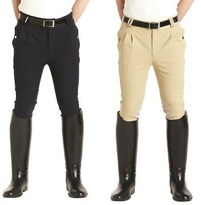 Caldene Gloucester Mens Horse Riding Breeches ALL SIZES BLACK NAVY BEIGE