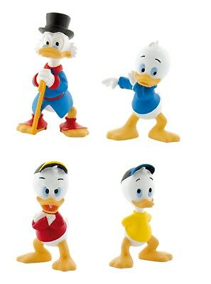 BULLYLAND DISNEY DUCK TALES FIGURES - Choice 4 figures including Scrooge McDuck