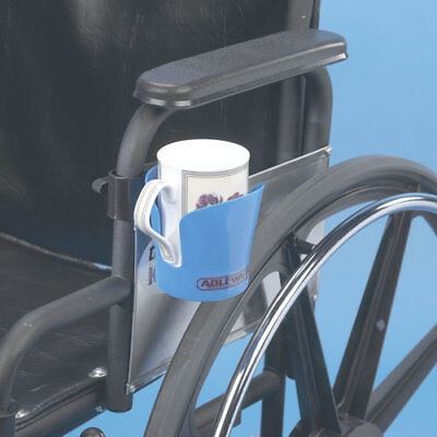 Maddak Wheelchair Cup Holder, Blue #706220001