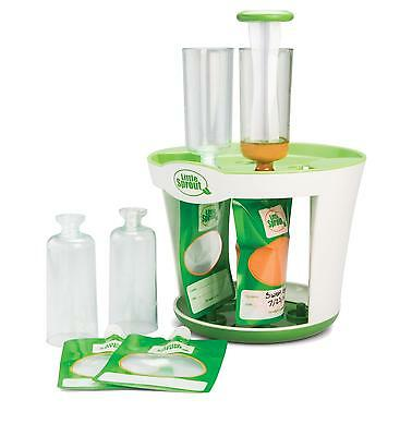Baby Food Maker Storage Fill Station Reusable Pouches Kids Homemade Snacks Gift
