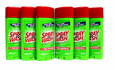 6 Resolve STAIN STICK Spray 'n Wash Laundry Stain Remover Treat Now Wash Later