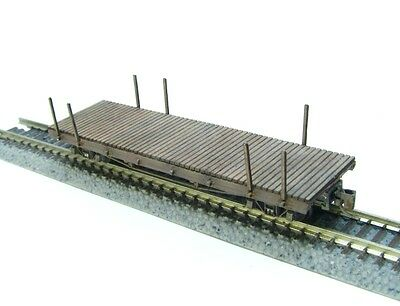 Nn3 Scale 30 Ft. Flat Car Kit by Showcase Miniatures (5007)