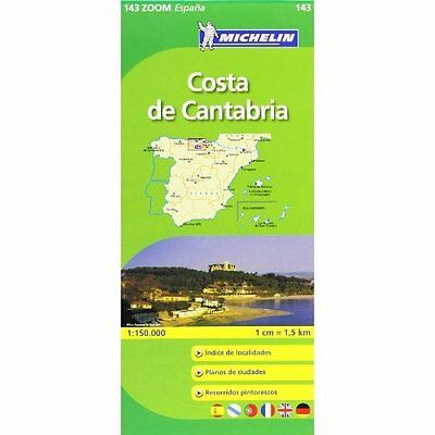 Costa De Cantabria Michelin Editions des Voyages Sheet map, folded 9782067140622
