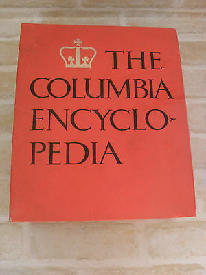 Original Mid 1960's Vintage - The Columbia Encyclopedia - Hardcover Book