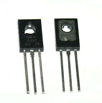 10 pcs 2SD882 D882 882 NPN SILICON POWER TRANSISTOR NEC TO-126  Cheap