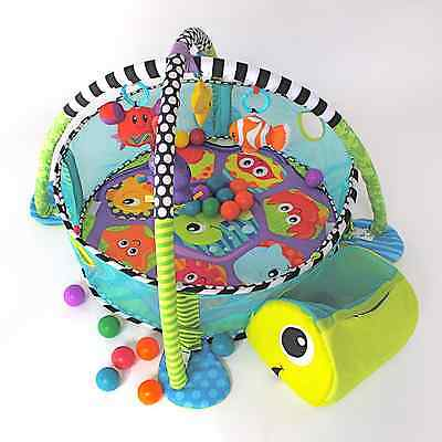 Baby playmat activity gym ball pit 3in1 multi-use babies & toddlers with balls