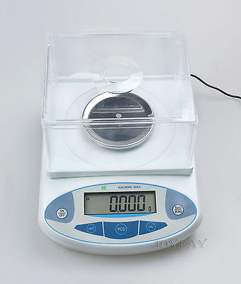 Analytical Balance 500 x 0.001 g 1mg Lab Digital Precision Scale CE U.S. Solid®