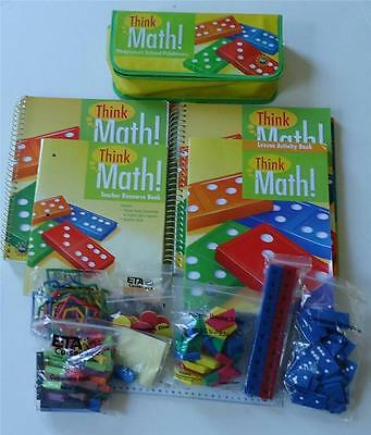 Harcourt Think Math! Kindergarten Homeschool Curriculum Full Year Complete Euc
