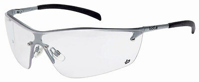 Bolle Silium Safety Cycling Glasses/Spectacles Clear Lens  Anti Mist SILPSI