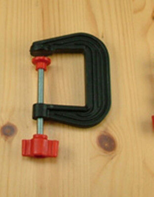 Modelcraft PCL3050 - Hobby/Model Makers Plastic 50mm G Clamp - 1st Class Post