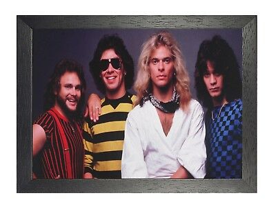 Van Halen 7 American Hard Rock Band Poster Roth Music Star Picture Old Photo