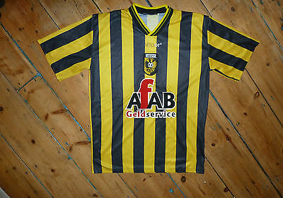 +VITESSE arnhem shirt+ S  + DUTCH FOOTBALL JERSEY + CAMISETA MAILLOT MAGLlA