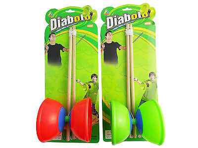 New Diablo Toy With Sticks Traditional Circus Game Retro Toy Retro Diabolo