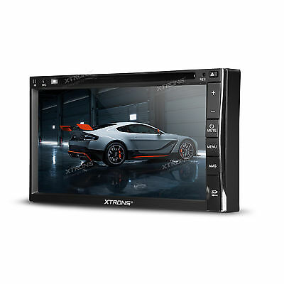 "XTRONS 6.95"" Double 2Din HD Car DVD Player Radio Stereo Digital Touch Screen USB"