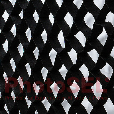 PhotoSEL GDER3X14 Honeycomb Grid Egg Crate for SBSR3X14 35x140 cm Strip Softbox