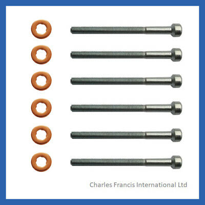 CLK CLS CDI INJECTOR BOLT AND WASHER SEAL KIT PACK OF 4 MERCEDES CLC