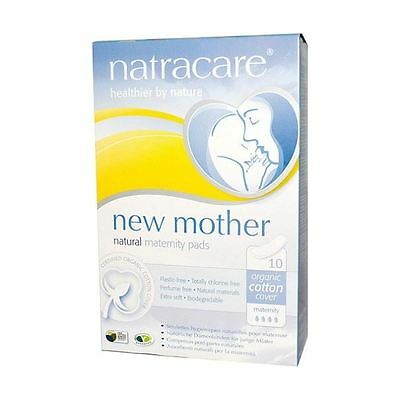Natracare New Mother Maternity Pads - 10 Pieces (Pack of 12)