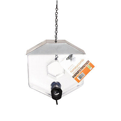 Chapelwood Honeycomb Seed Bird Feeder Outdoor Garden Feeding Hanging Fun