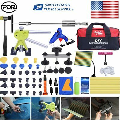 PDR Dent Lifter slide hammer Puller box Paintless Repair Tools kits Hail Removal