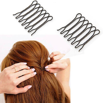 NEW Fashion 2 Pack Japan Style Bangs Styling Clips Tools Front Hair Comb Clips