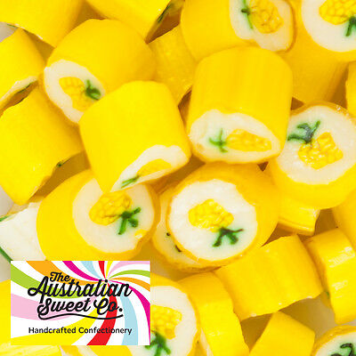 1kg Pineapple Rock Candy bulk lollies - Wedding Favours Party