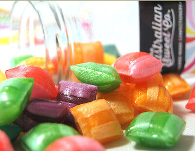 1kg Sherbet Humbugs Rock Candy Boiled bulk lollies - Wedding Favours Party