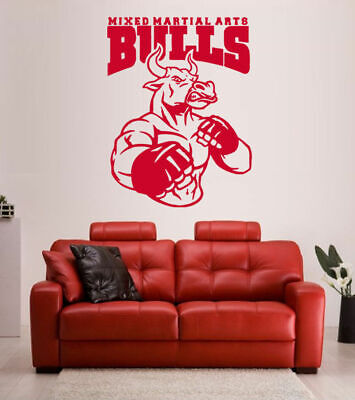 Hanging boxing gloves Wall Sticker wall sticker decal sports gym fitness w144