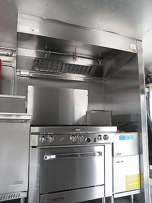 6 Ft. Food Truck Restaurant Kitchen Exhaust Hood  Blower / Curb / For Concession