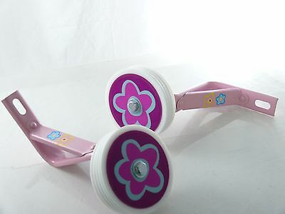 "little princess Bicycle Heavy Duty Training Wheels for 14"" Bike Children"