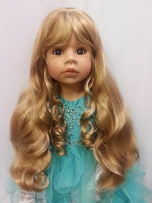 """NWT Monique Susanna Ginger Doll Wig 17-18"""" fits Masterpiece Doll(WIG ONLY)"""