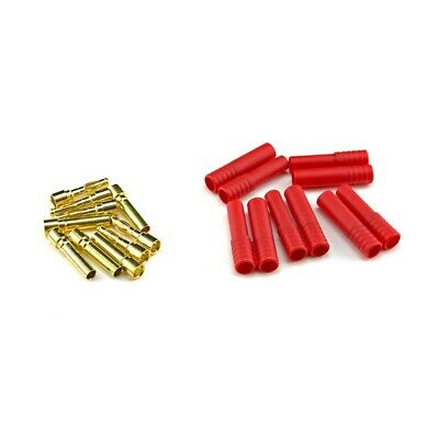 HobbyStar HXT4MM Bullet Connectors 5-PACK RC LiPo Turnigy banana housing US SHIP