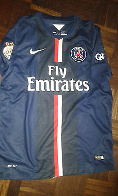 PSG FRANCE Champion Camiseta Futbol Football Shirt M