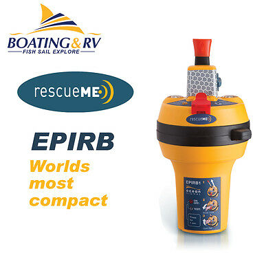 Ocean Signal rescueME EPIRB with GPS Marine Distress Radio Satellite Beacon