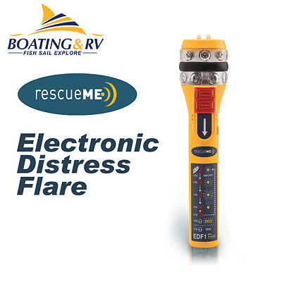 Electronic Distress Flare EDF - rescueME - Boating Flares - FREE POSTAGE