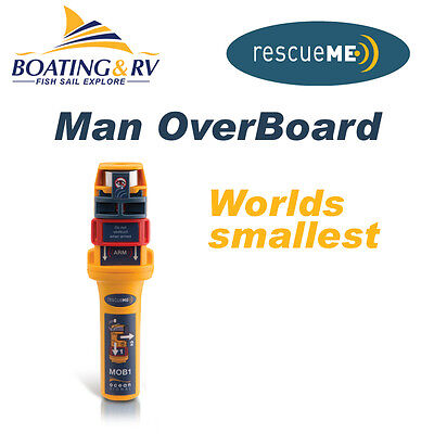 AIS MOB - Automatic Identification System Man OverBoard  RescueMe - FREE POSTAGE