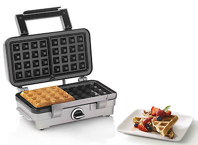 Cuisinart 2 Slice Belgian Waffle Maker WAF-1A Brushed Stainless RRP $159.00