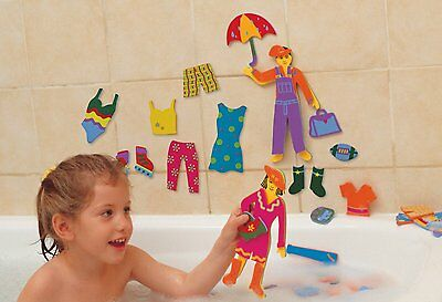 Bath Float Foam Splash of Fashion- Dress Up (Tub Fun): Pretend Water Play Toy -Y