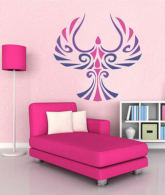 ced482 Full Color Wall decal Sticker Elephant Girl living room ...