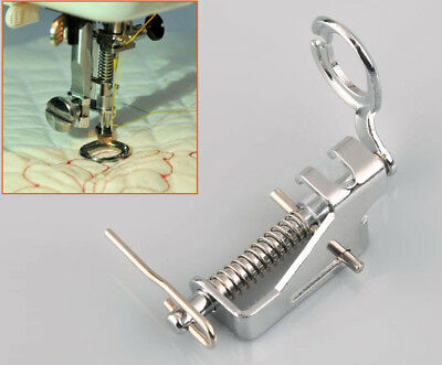 1 X Low Shank Darning Foot Free Motion Spring Embroidery Singer Janome Brother