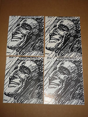 Tony Bennett Music Society - Lot Of 1st 4 issues from 1972/3