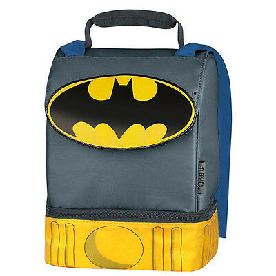 Batman- Lunchbox With Cape. Includes A Water Bottle!